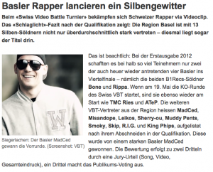 Bericht Basler Zeitung